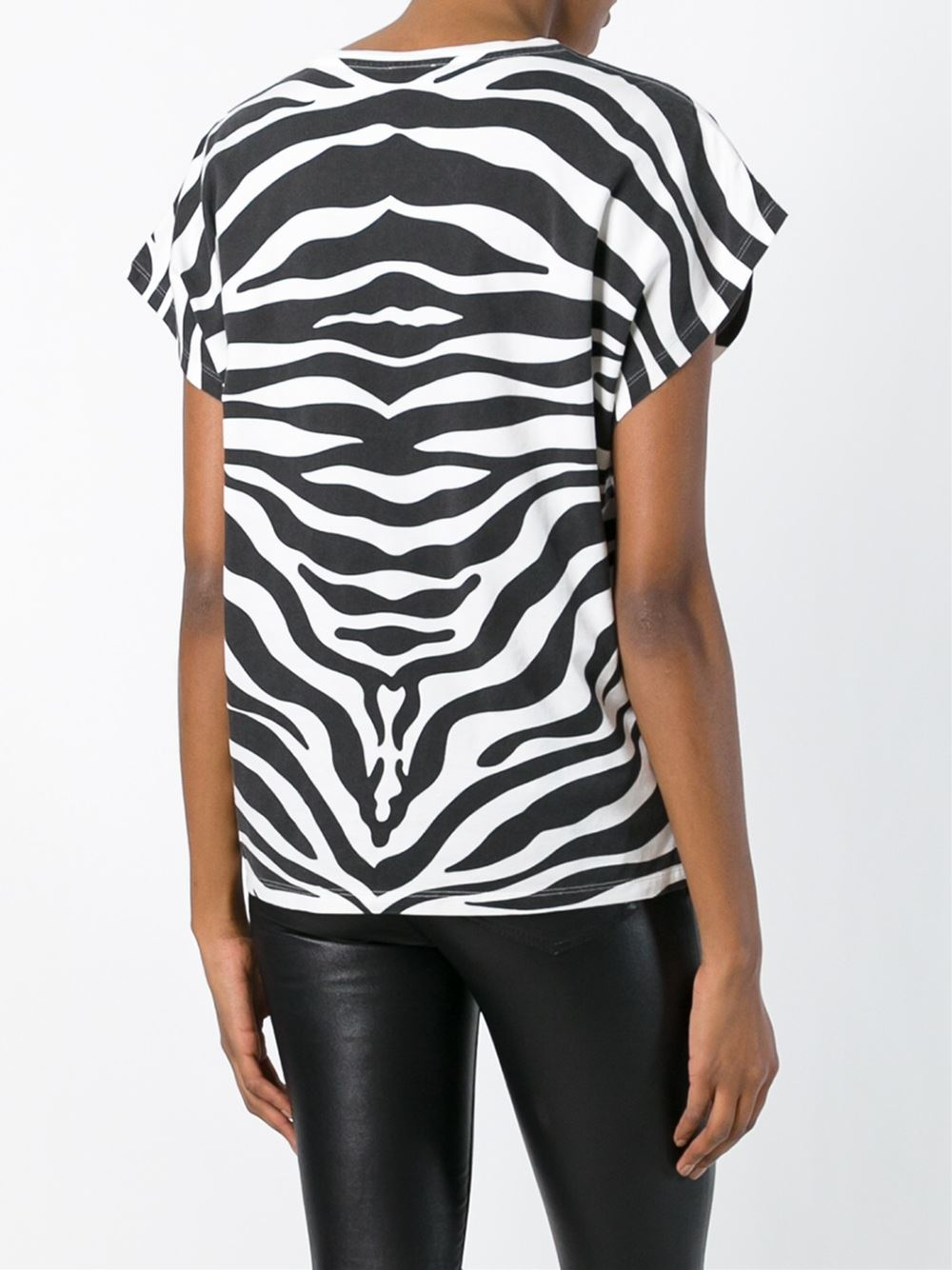 Zebra T Shirt Lyst - Saint La...