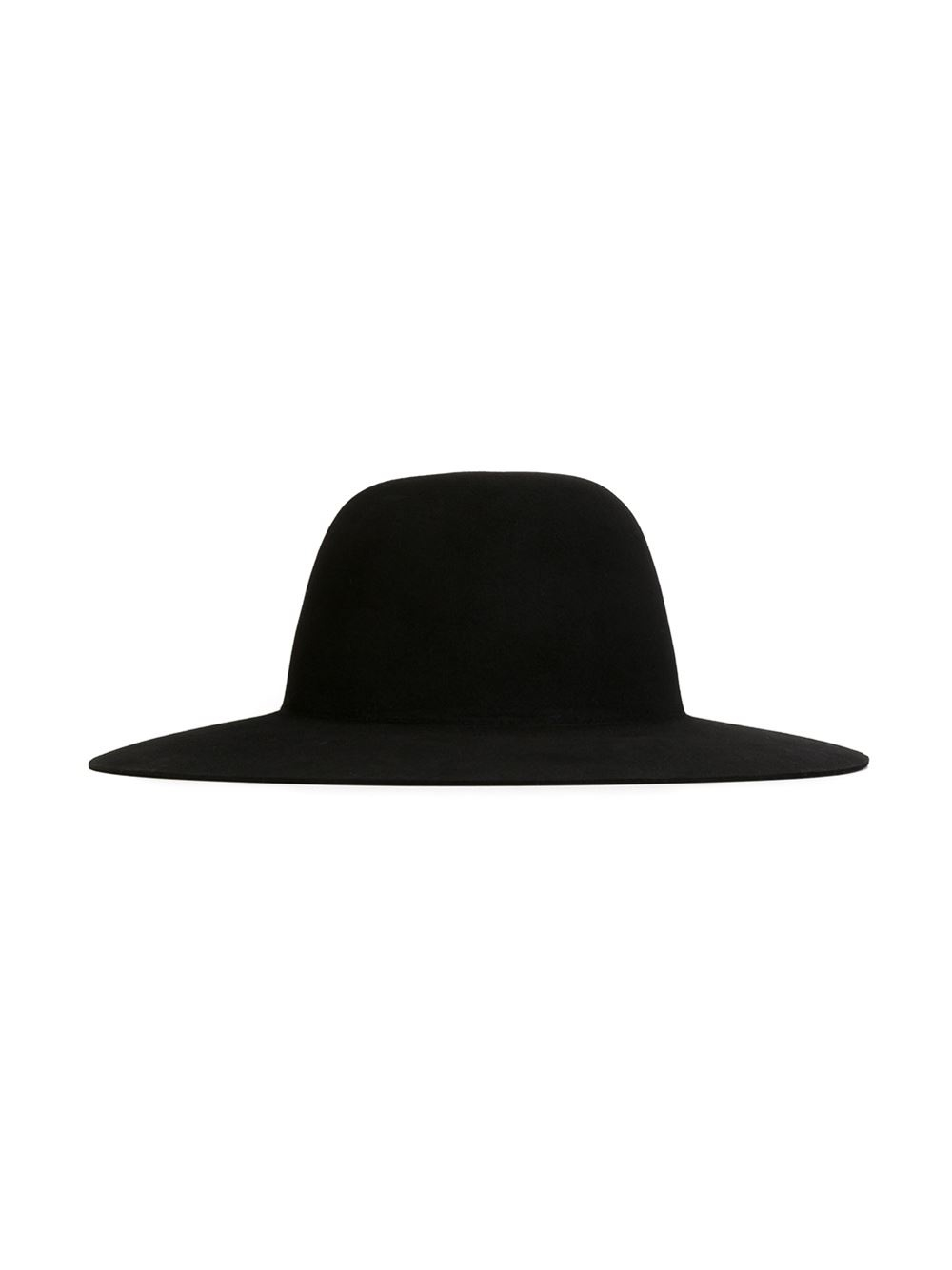 Lyst Off White C O Virgil Abloh Wide Brim Hat In Black