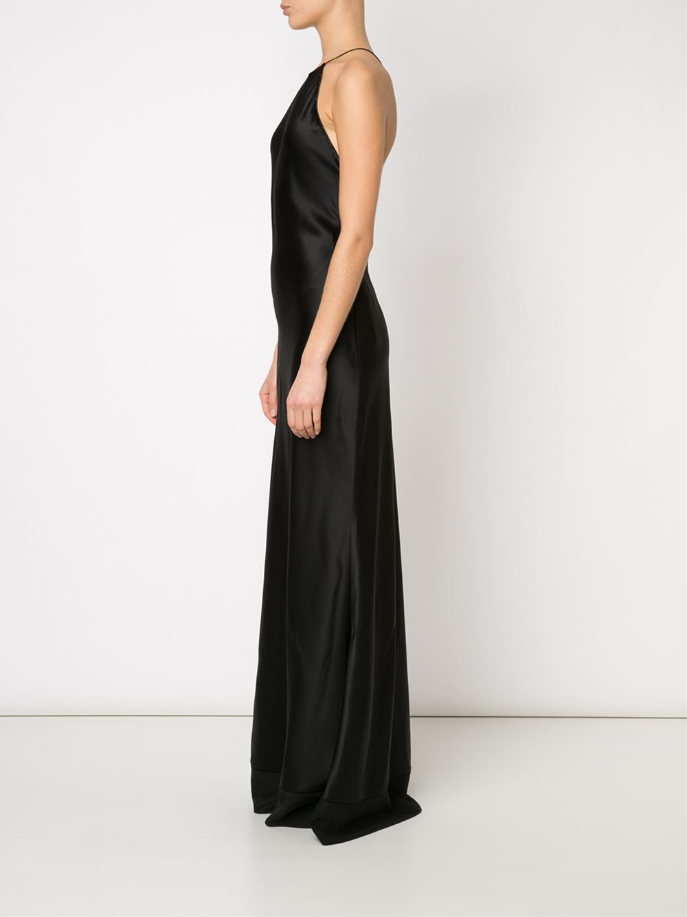 Calvin Klein Fawn Evening Dress In Black Lyst