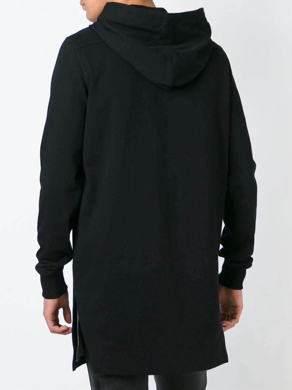 Mens long hoodie