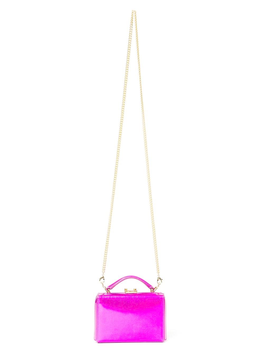 Mark cross Mini 'grace' Box Clutch in Purple (PINK ...