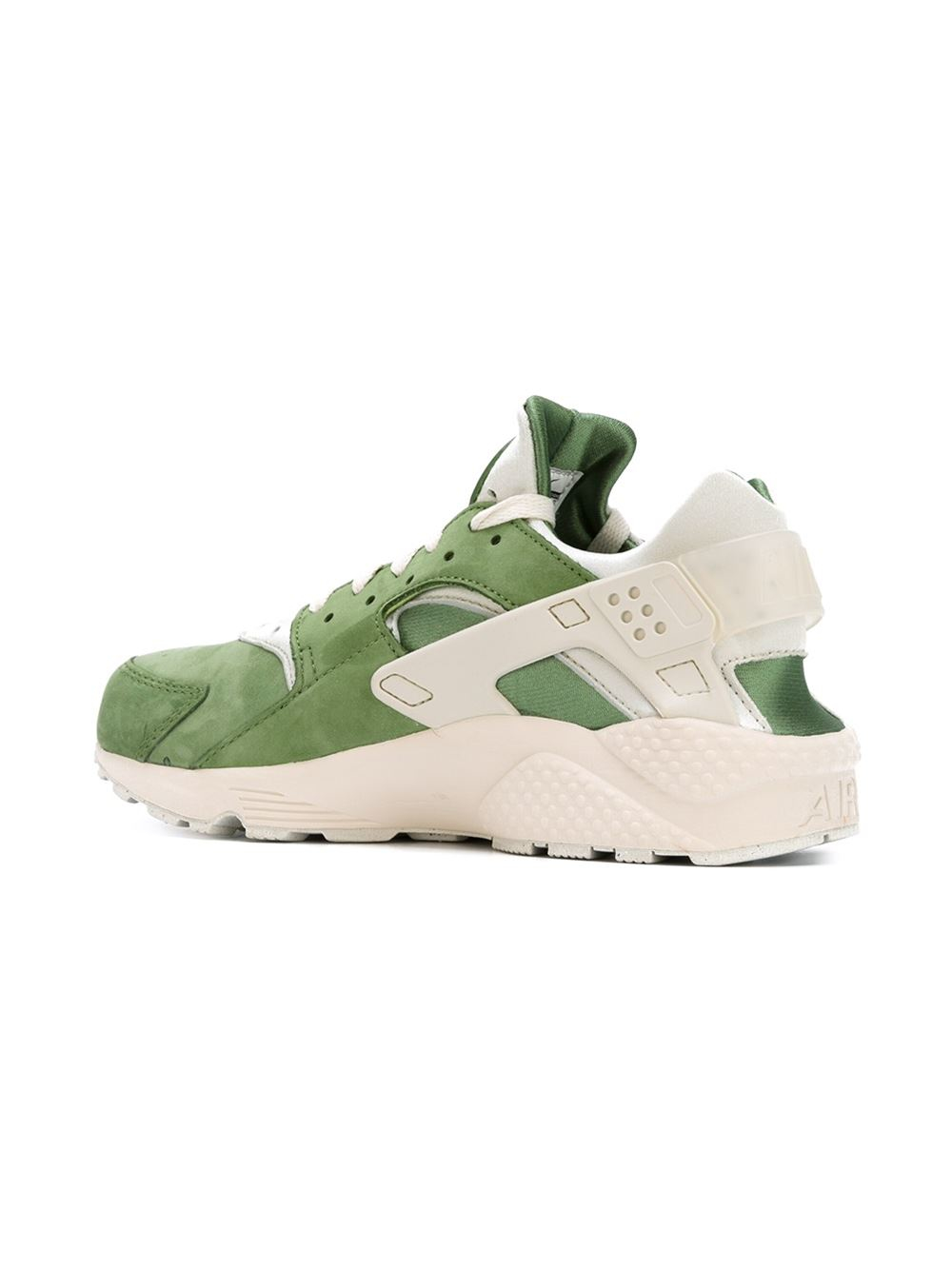 nike 39 air huarache 39 sneakers in beige for men green lyst. Black Bedroom Furniture Sets. Home Design Ideas