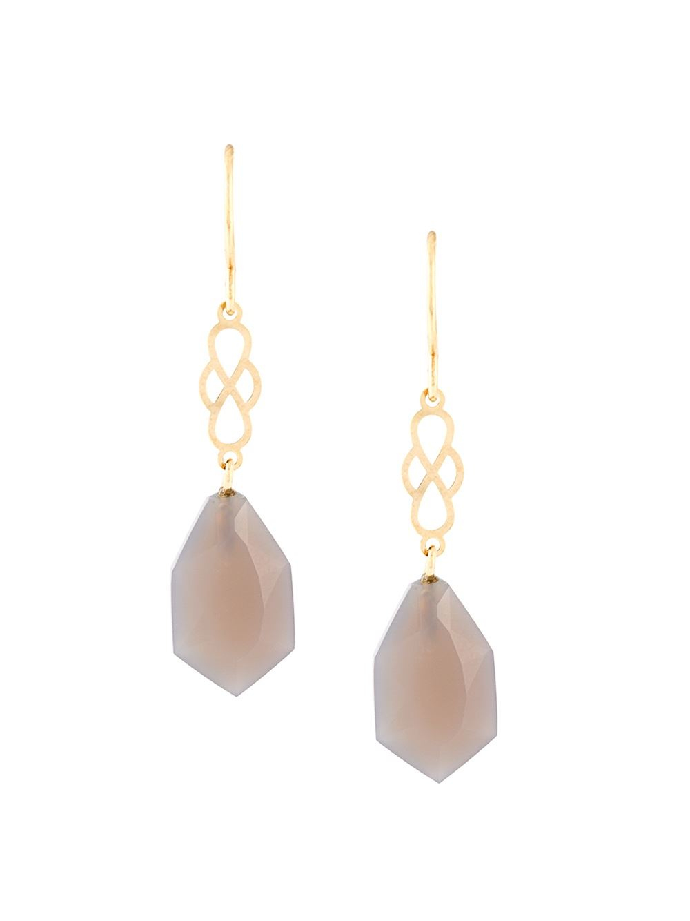 wouters my favourite grey agate earrings in