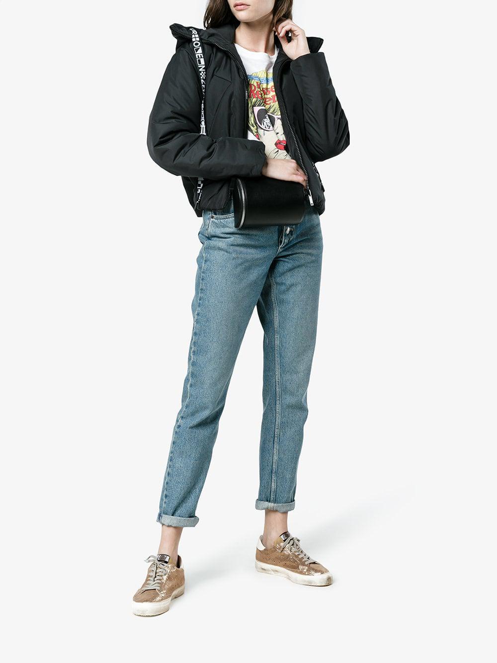 Zapatillas May con purpurina Golden Goose Deluxe Brand de Cuero de color Metálico