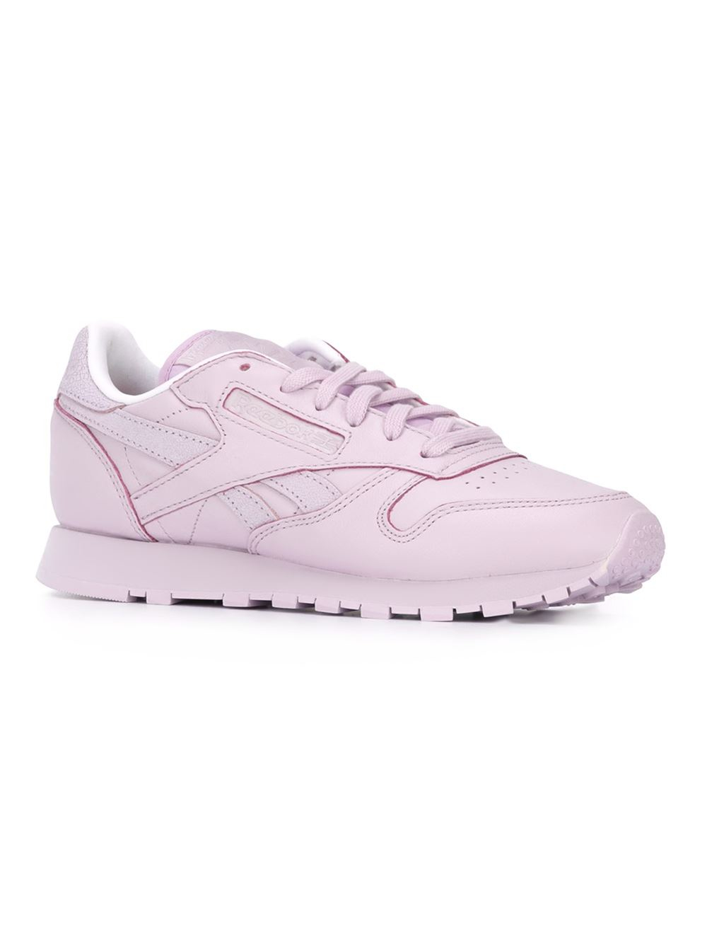 reebok 39 classic 39 sneakers in pink lyst. Black Bedroom Furniture Sets. Home Design Ideas