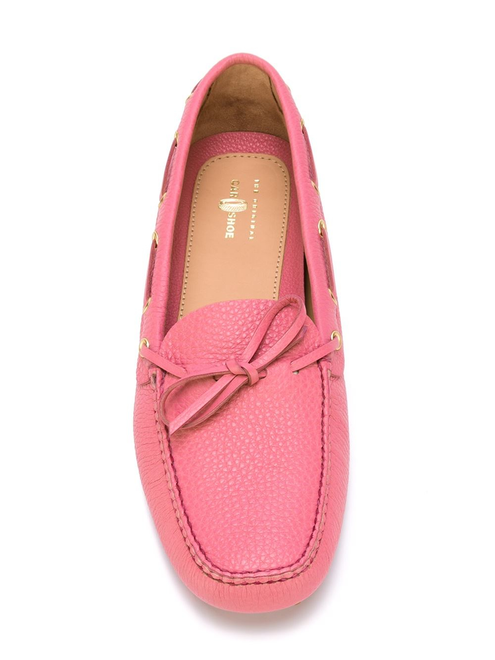 car shoe classic driving shoes in pink pink purple lyst