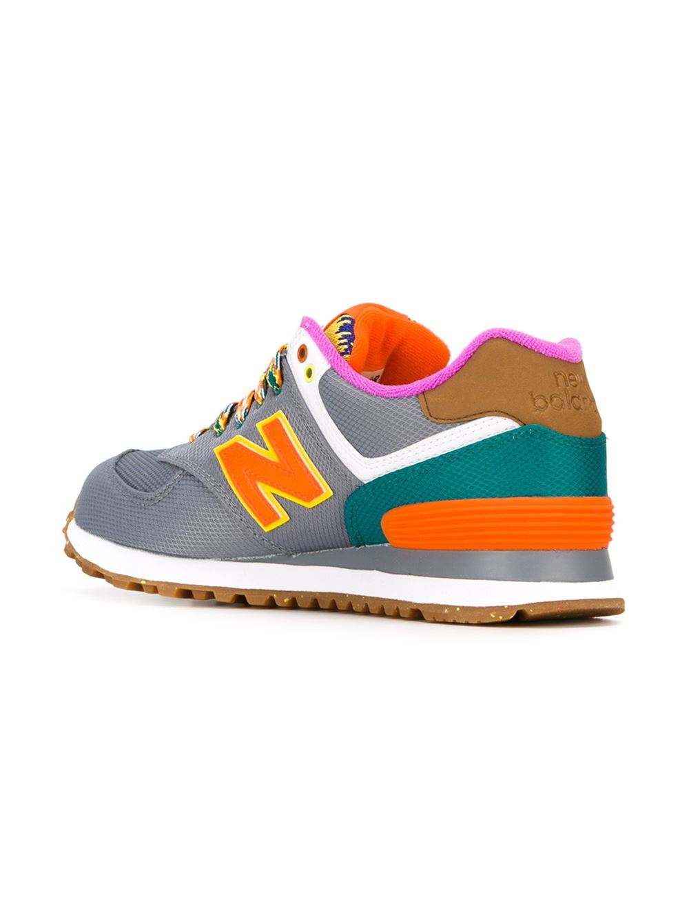 Lyst - New Balance 'neon Mountain 574' Sneakers in Gray