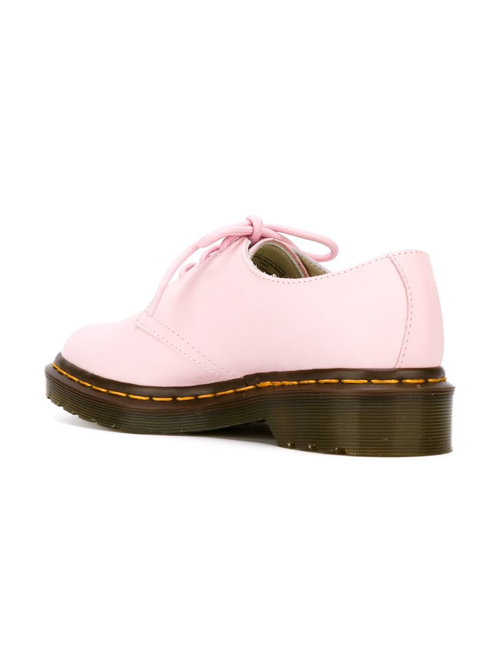 Dr. Martens 3 Eye Oxford Shoes In Pink | Lyst