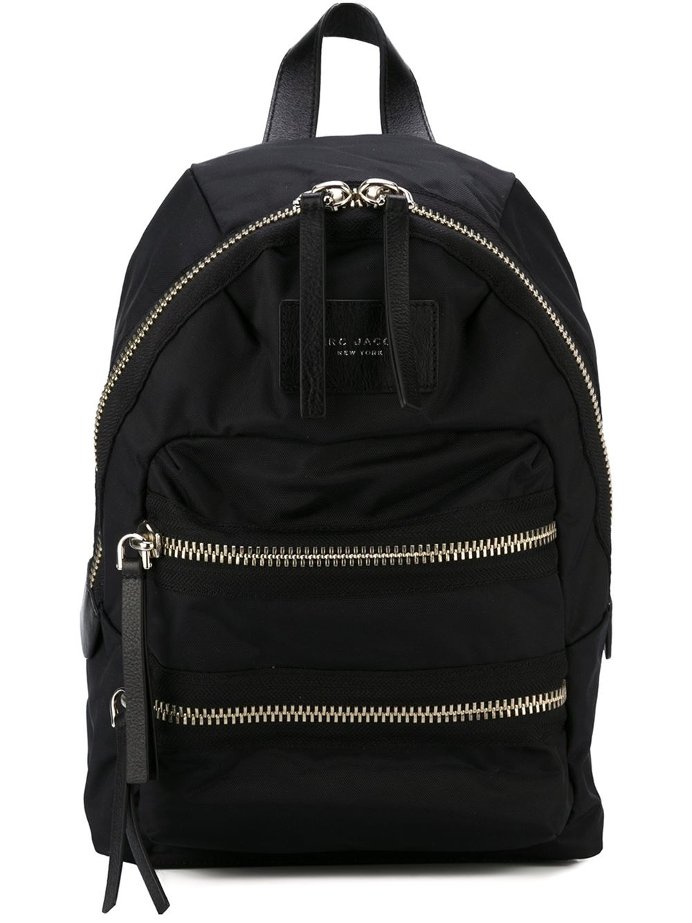 marc jacobs 39 biker 39 backpack in black lyst. Black Bedroom Furniture Sets. Home Design Ideas
