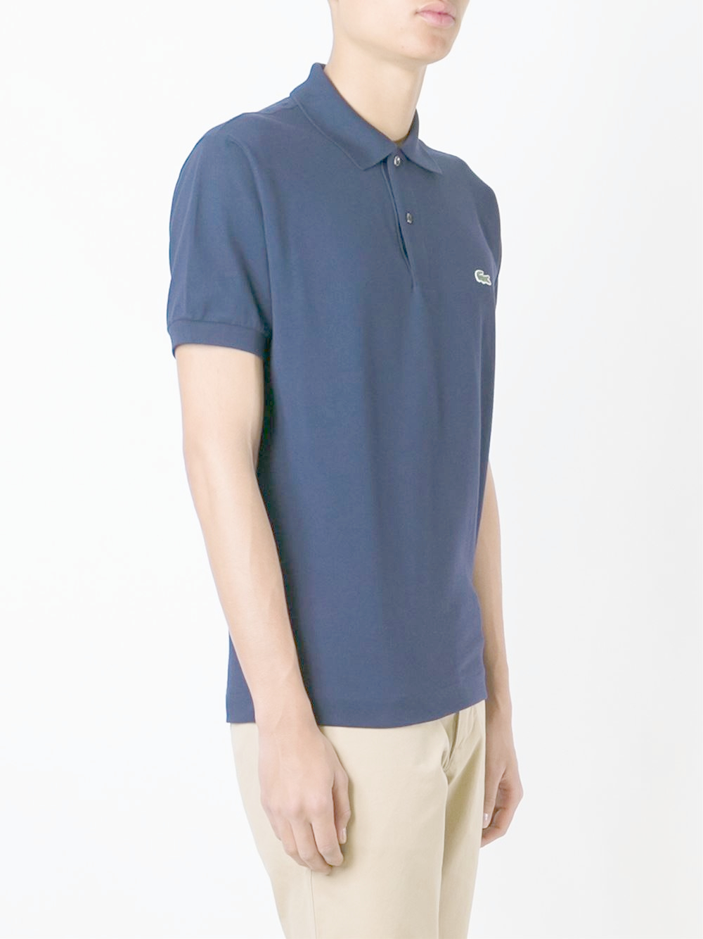 lacoste classic piqu polo shirt in blue for men lyst. Black Bedroom Furniture Sets. Home Design Ideas