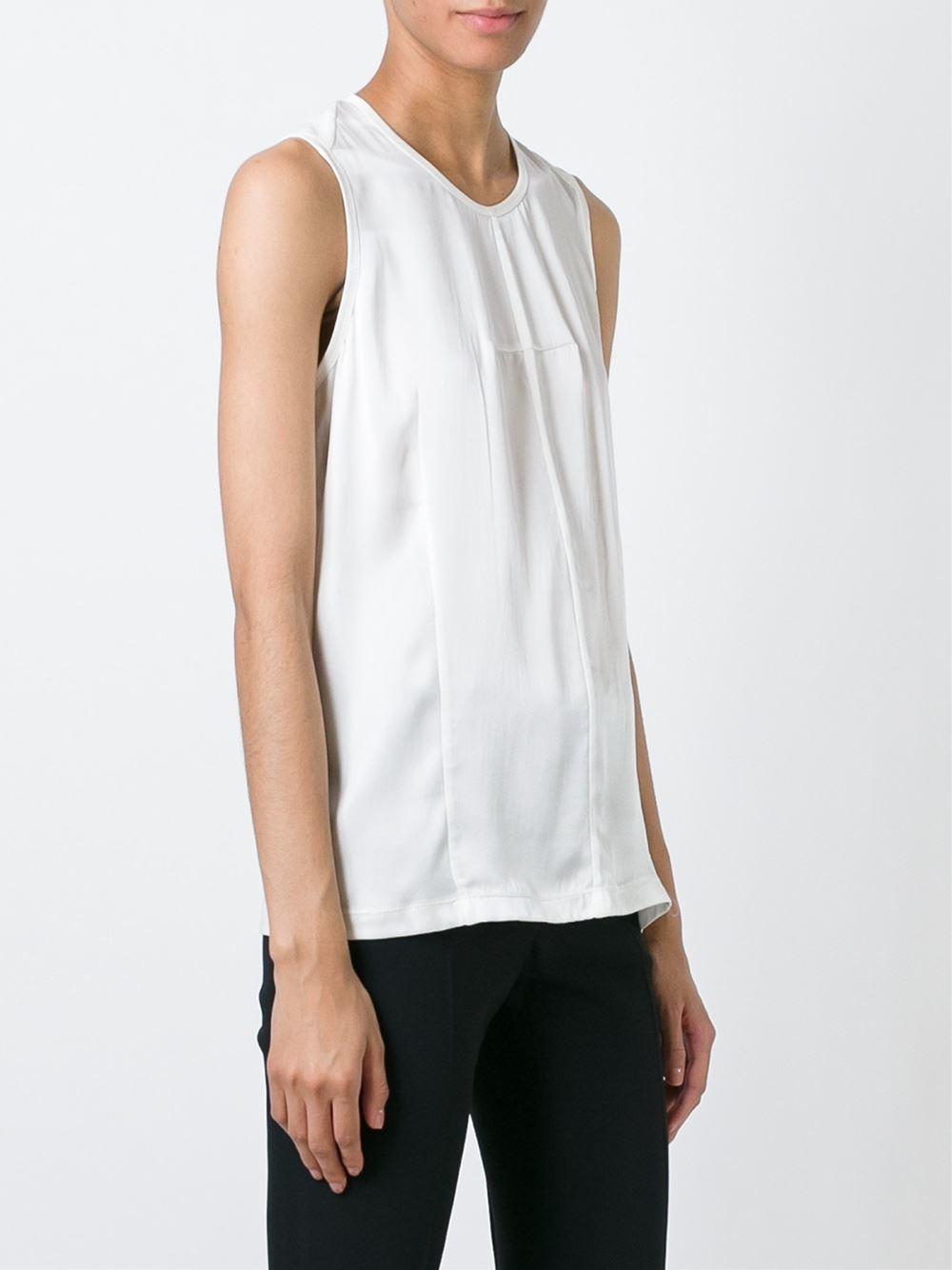 Lyst Joseph Tailored Blouse In White