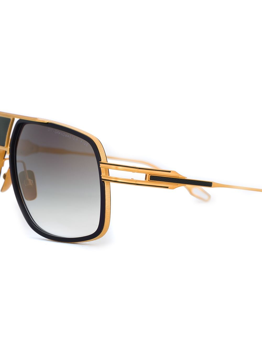 Dita eyewear 'grandmaster Five' Sunglasses in Gold (BLACK ... Dita Eyewear