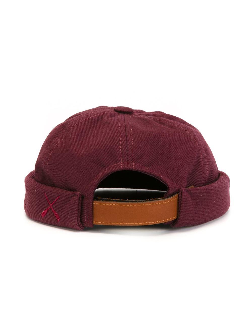 lyst beton cire billess hat in purple for men. Black Bedroom Furniture Sets. Home Design Ideas
