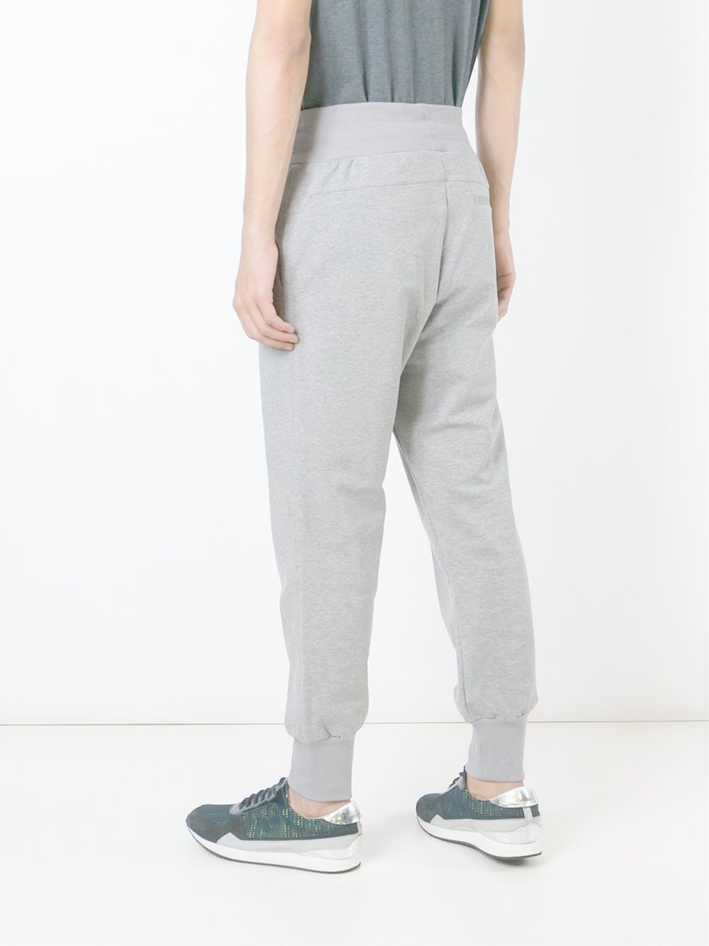 adidas Originals Cotton 'porsche Design Sports' Sweatpants in Grey (Grey) for Men