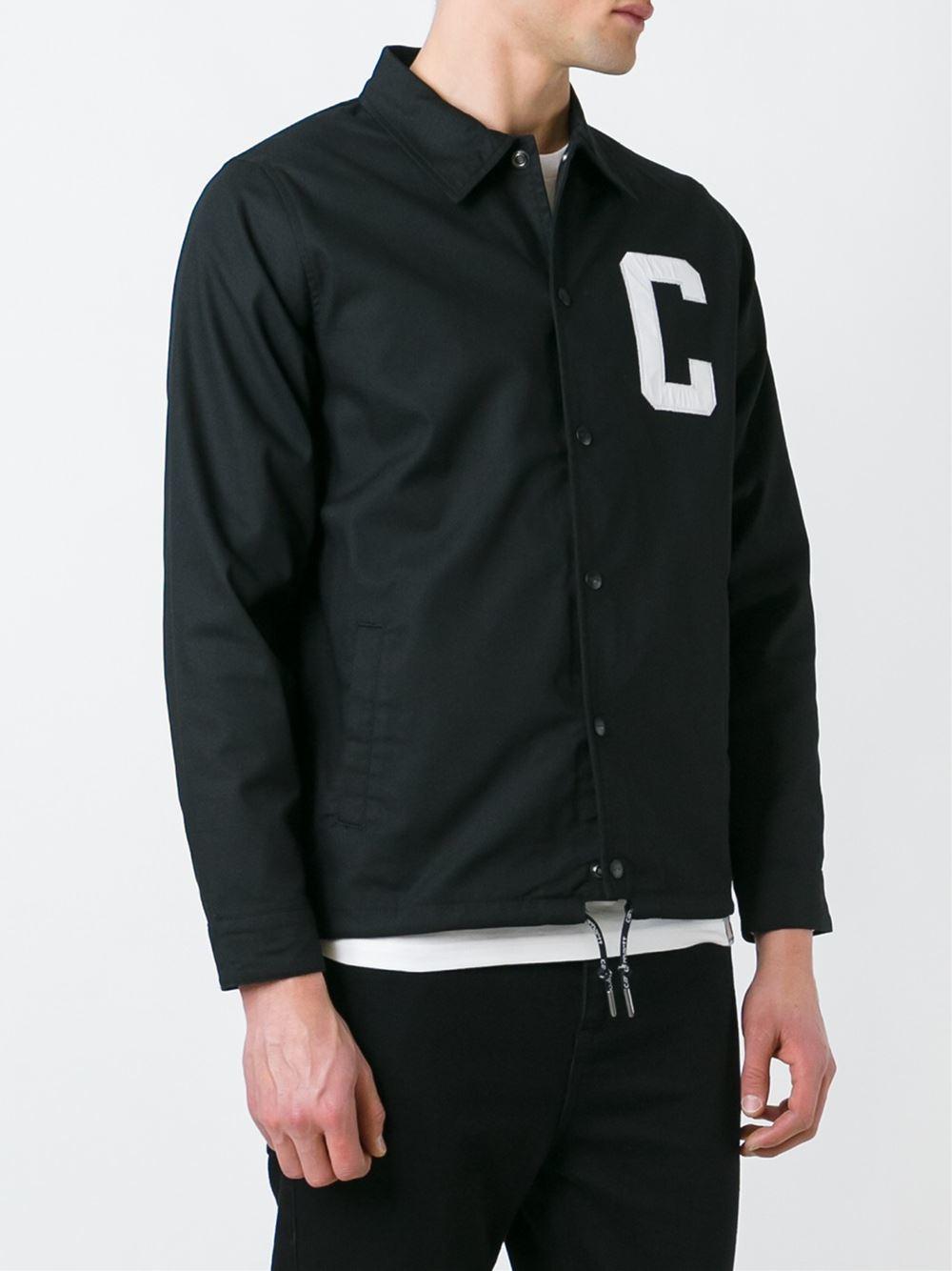 Carhartt Cotton 'penn' Jacket in Black for Men - Lyst