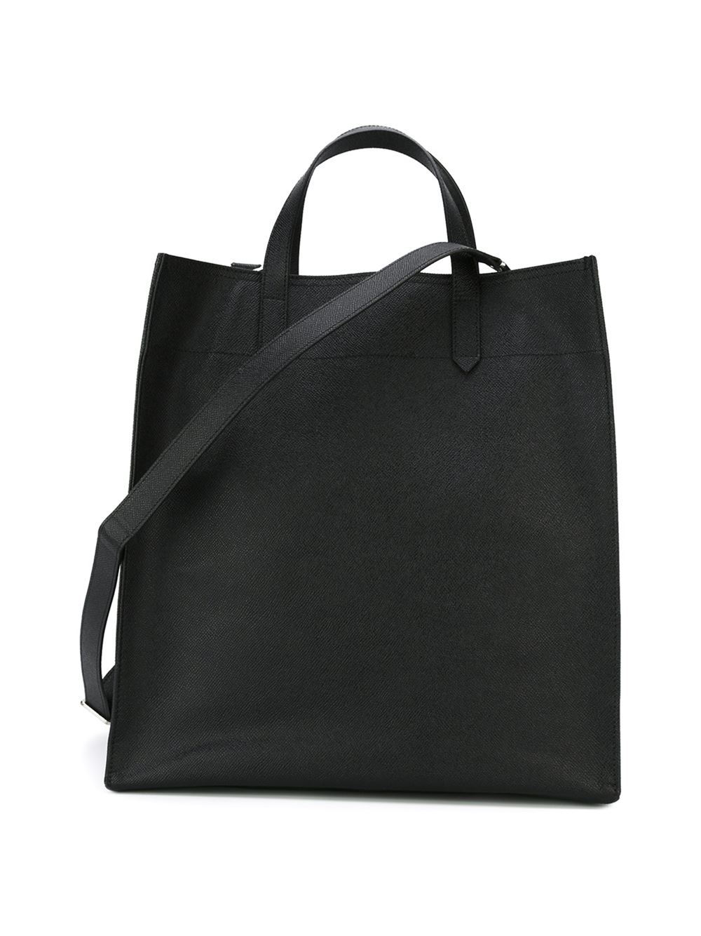 Givenchy Leather 'paris' Shopper Tote in Black