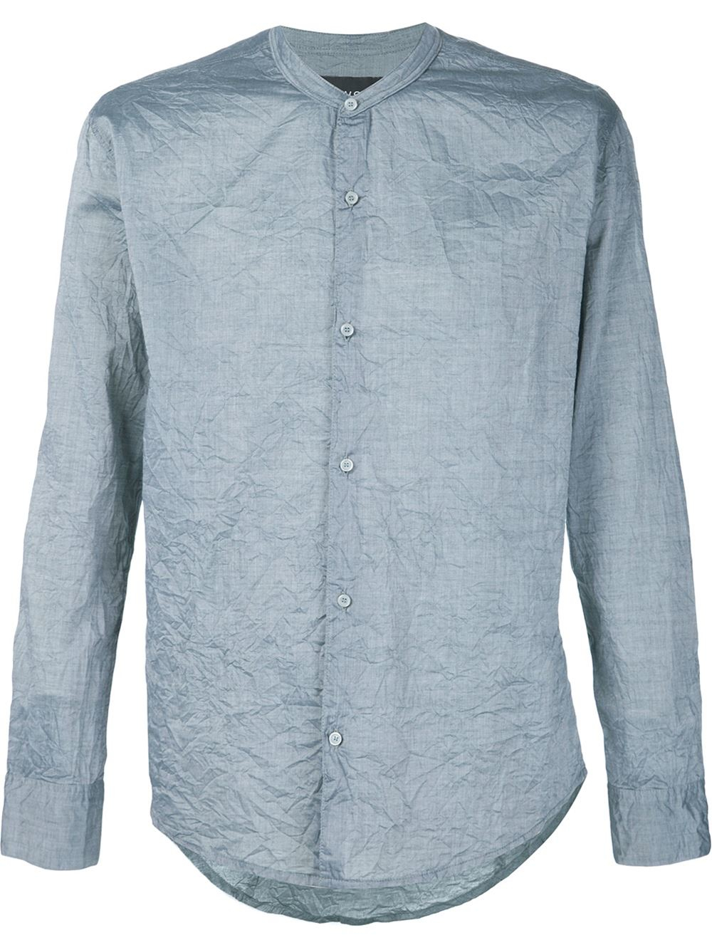 Cwst Wrinkled Shirt in Green for Men | Lyst