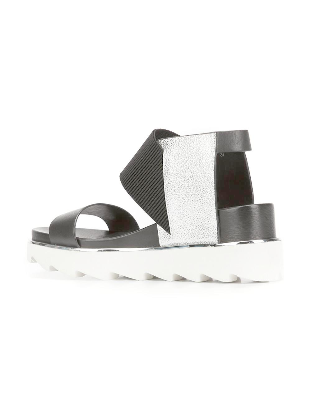 Black UNITED NUDE Sandals RICO SANDAL | Omoda