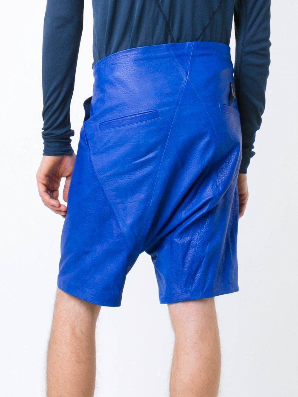 Lyst boris bidjan saberi men in blue for men for Av diagonal 434