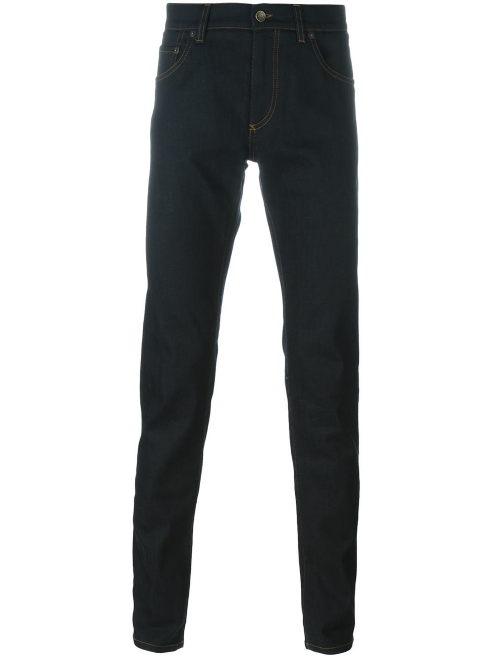 dolce gabbana skinny jeans in blue for men lyst. Black Bedroom Furniture Sets. Home Design Ideas