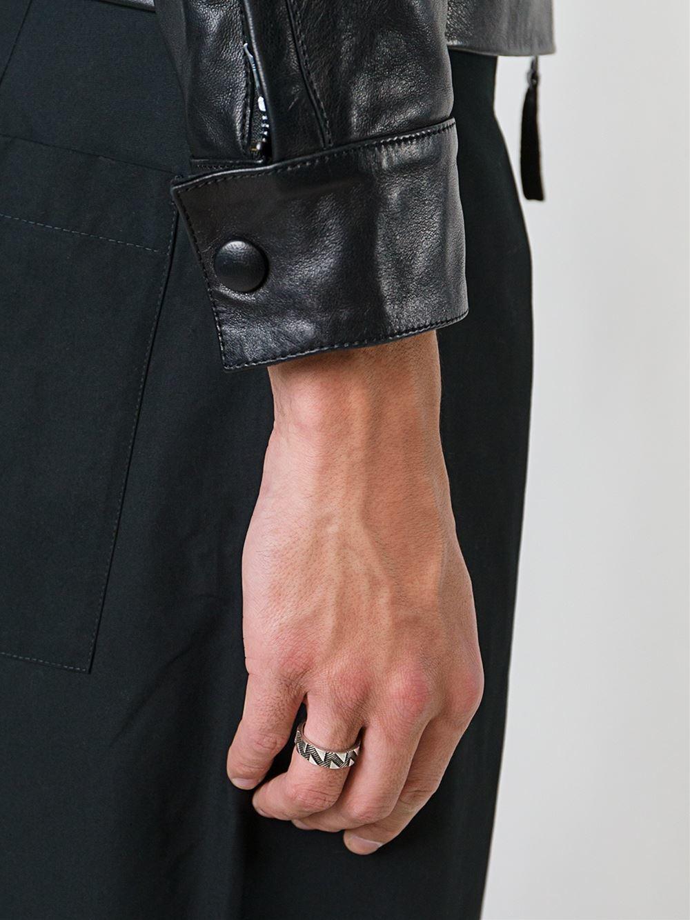 Northskull 'shadowplay' Ring in Metallic for Men