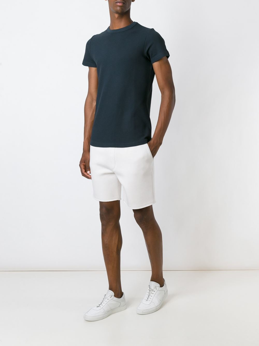 The white briefs Curacao T-shirt in Blue for Men