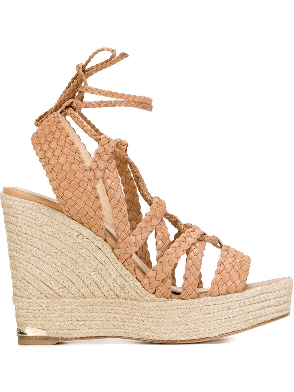 Paloma Barcel 243 Paloma Barcel 243 Braided Wedge Sandals In