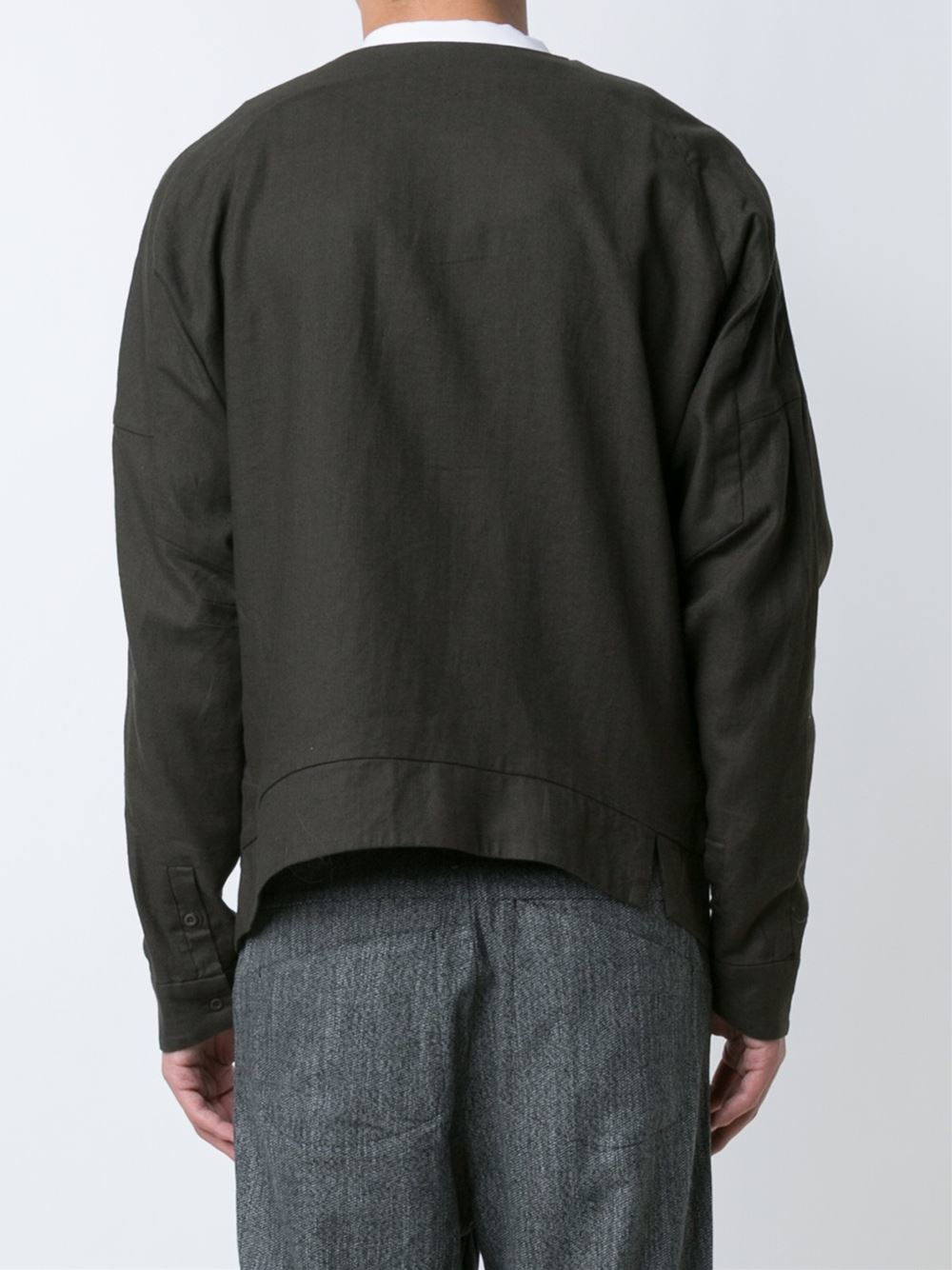 Chapter Zipped Jacket In Black For Men | Lyst