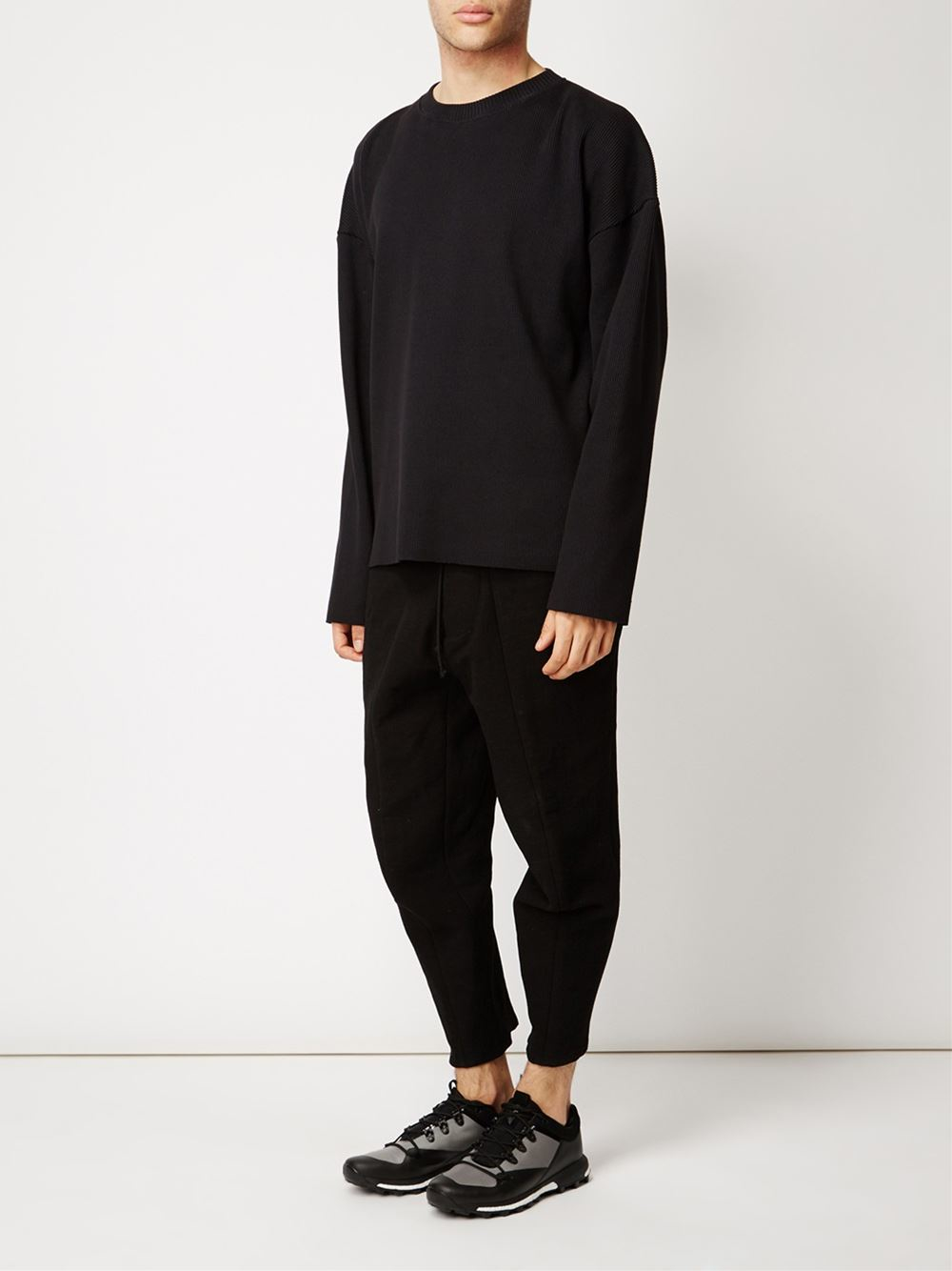 how to get percentage on iphone lyst l 201 claireur shigoto sweatshirt in black for 7921