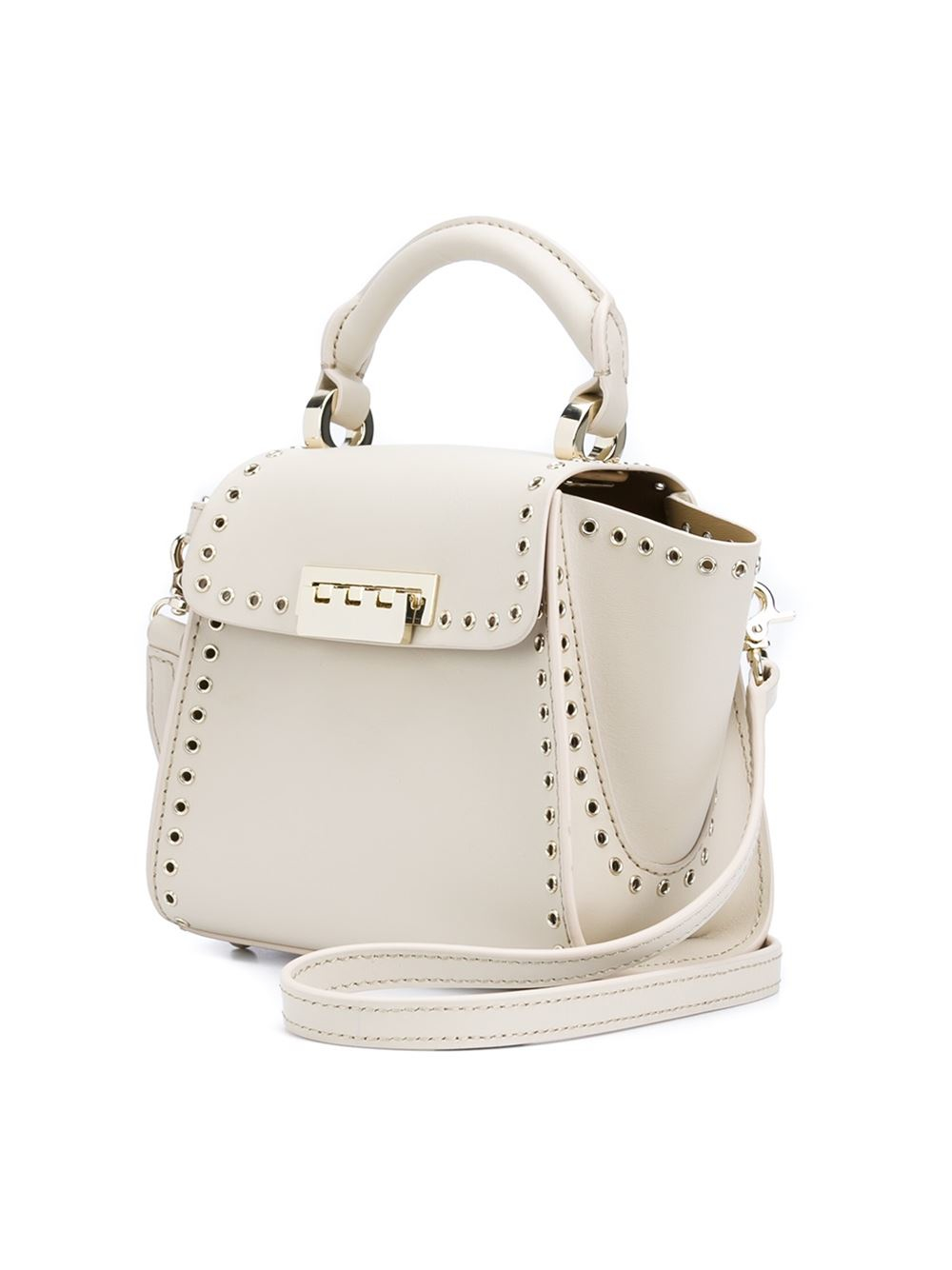 Zac Zac Posen Leather Eartha Iconic Crossbody Bag In