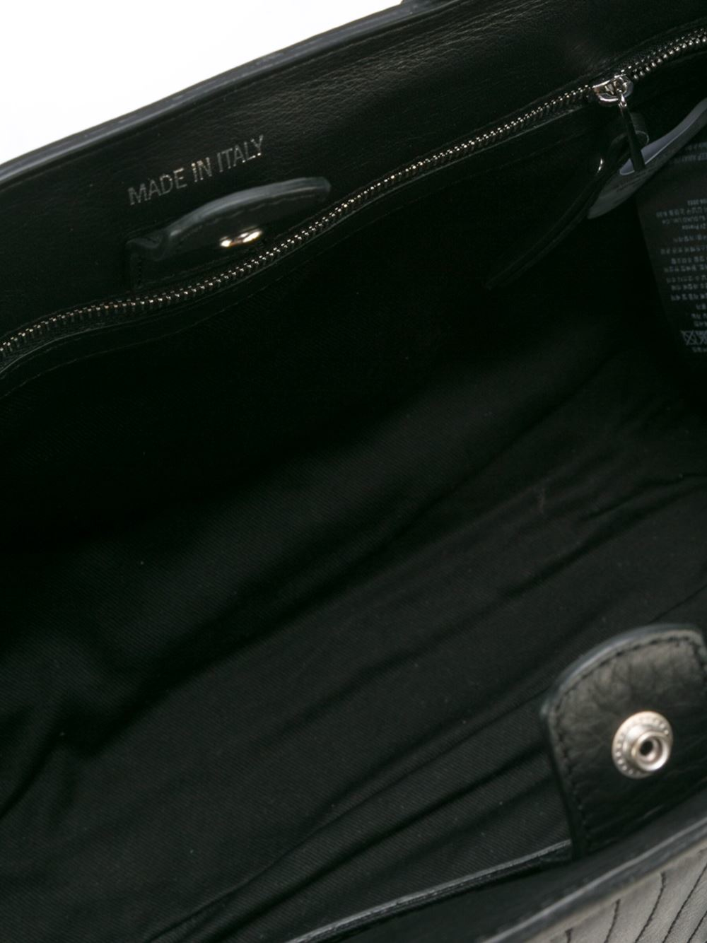 Zadig & Voltaire Seat Tote in Black