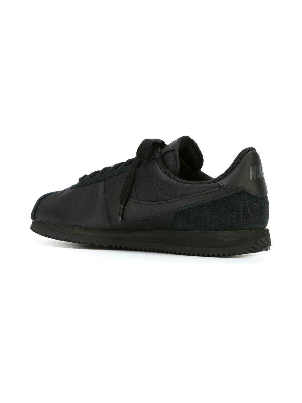 Nike Cortez Basic 1972 Qs Sneakers In Black For Men Lyst