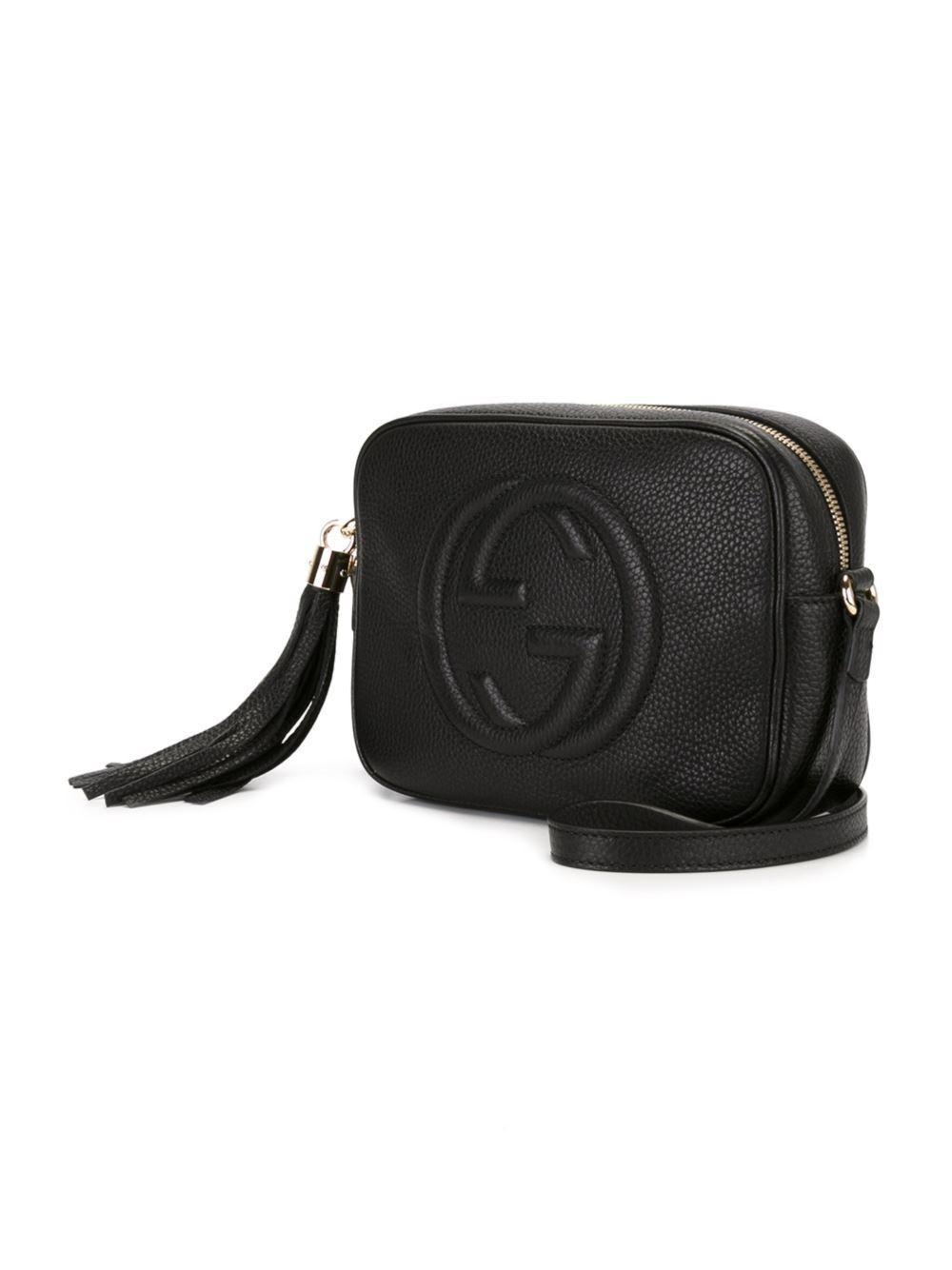 af50658ccdb Lyst - Gucci  soho  Disco Crossbody Bag ...