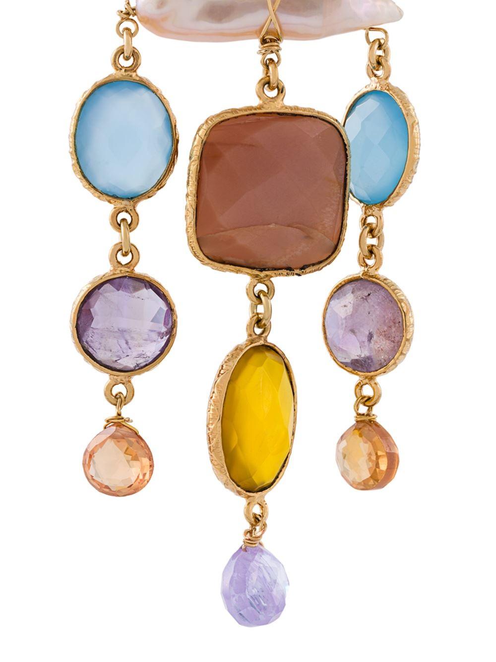 Gas Bijoux Large 'bella Vista' Earrings - Lyst