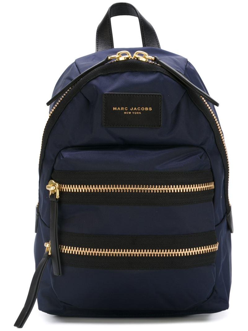Marc Jacobs Mini Biker Backpack In Blue For Men Lyst