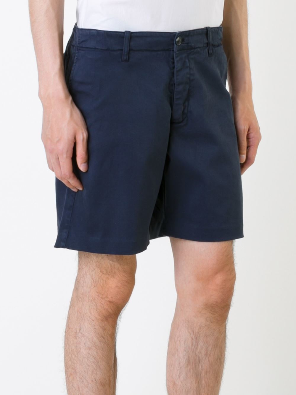 Lyst Ymc Chino Shorts In Green For Men