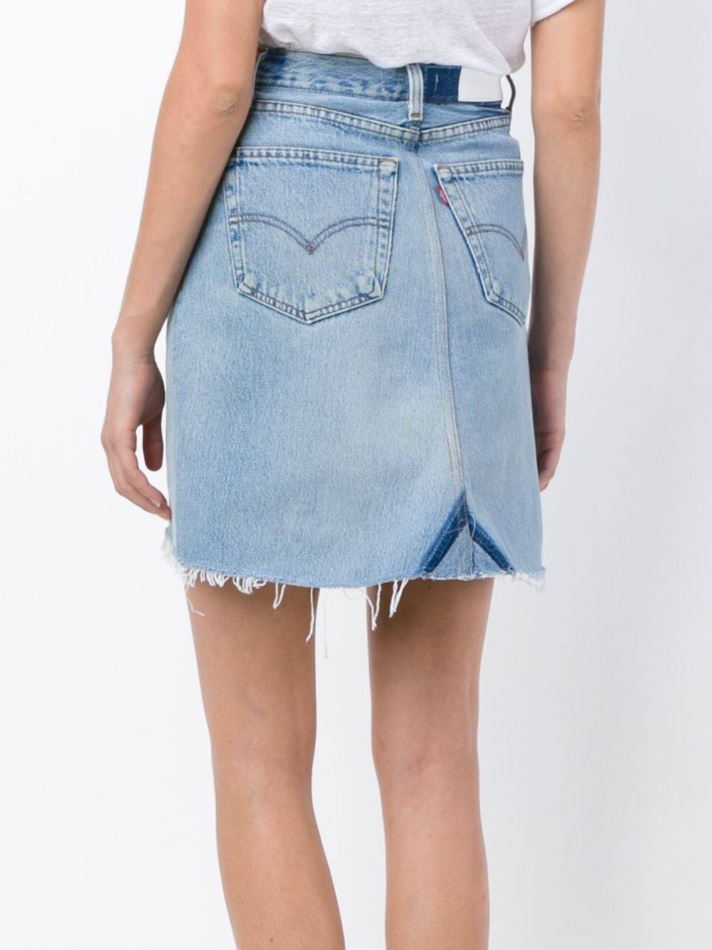 The denim skirt offers a classic casual counterpoint to your athletic tees and raglans to create a look that's all-American and perfect for casual hangouts. If you like a short-to-mid-thigh length hemline, you'll also enjoy everyday and shift dresses.