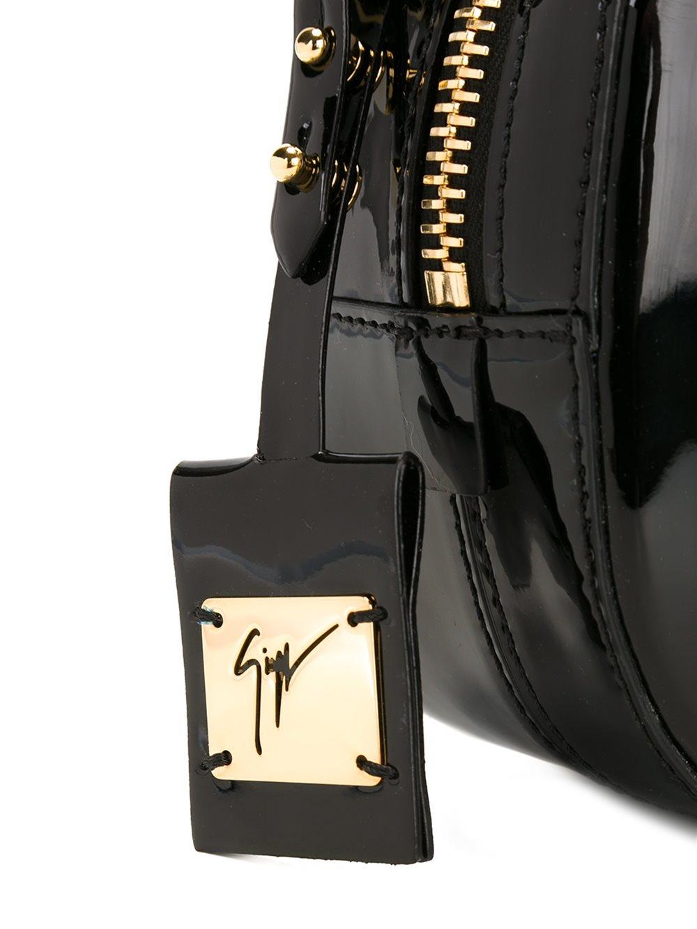 Giuseppe Zanotti 'Odette' Crossbody Bag in Black