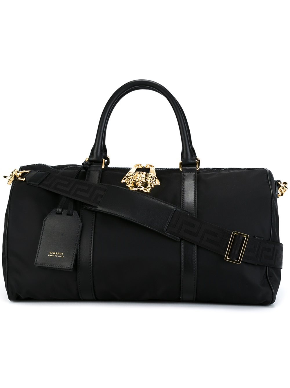 47e41f9a45 Lyst - Versace  palazzo Medusa  Duffle Bag in Black for Men