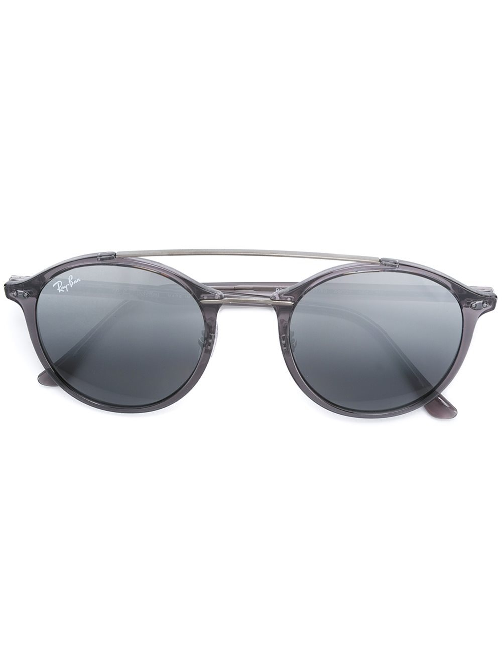 Ray Ban Round Frame Sunglasses : Ray-ban Round Frame Sunglasses in Gray (GREY) Lyst