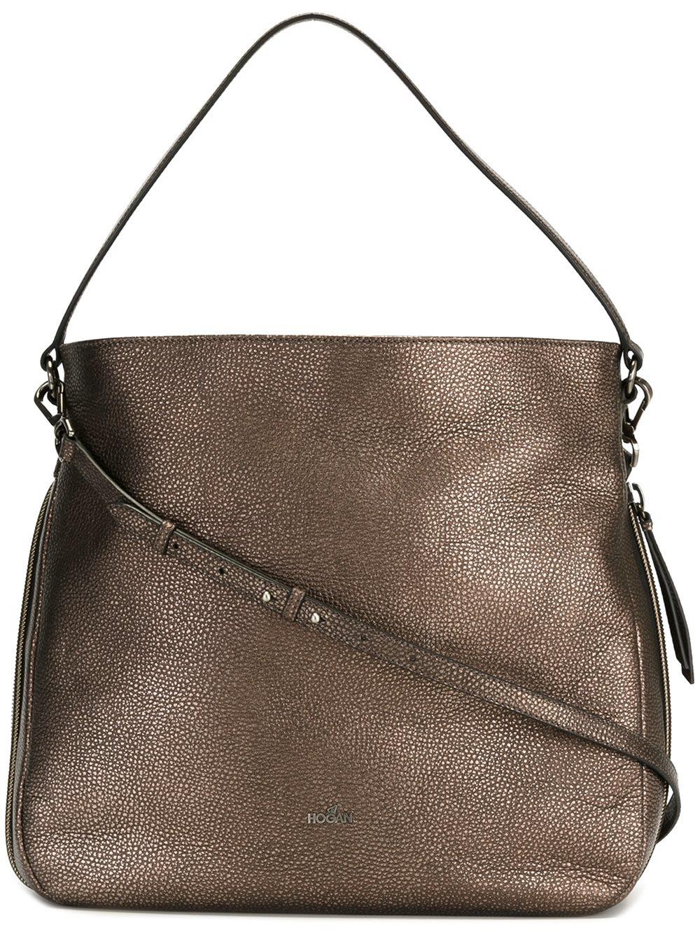 3a006ffe434 Lyst - Hogan Metallic (grey) Shoulder Bag in Metallic