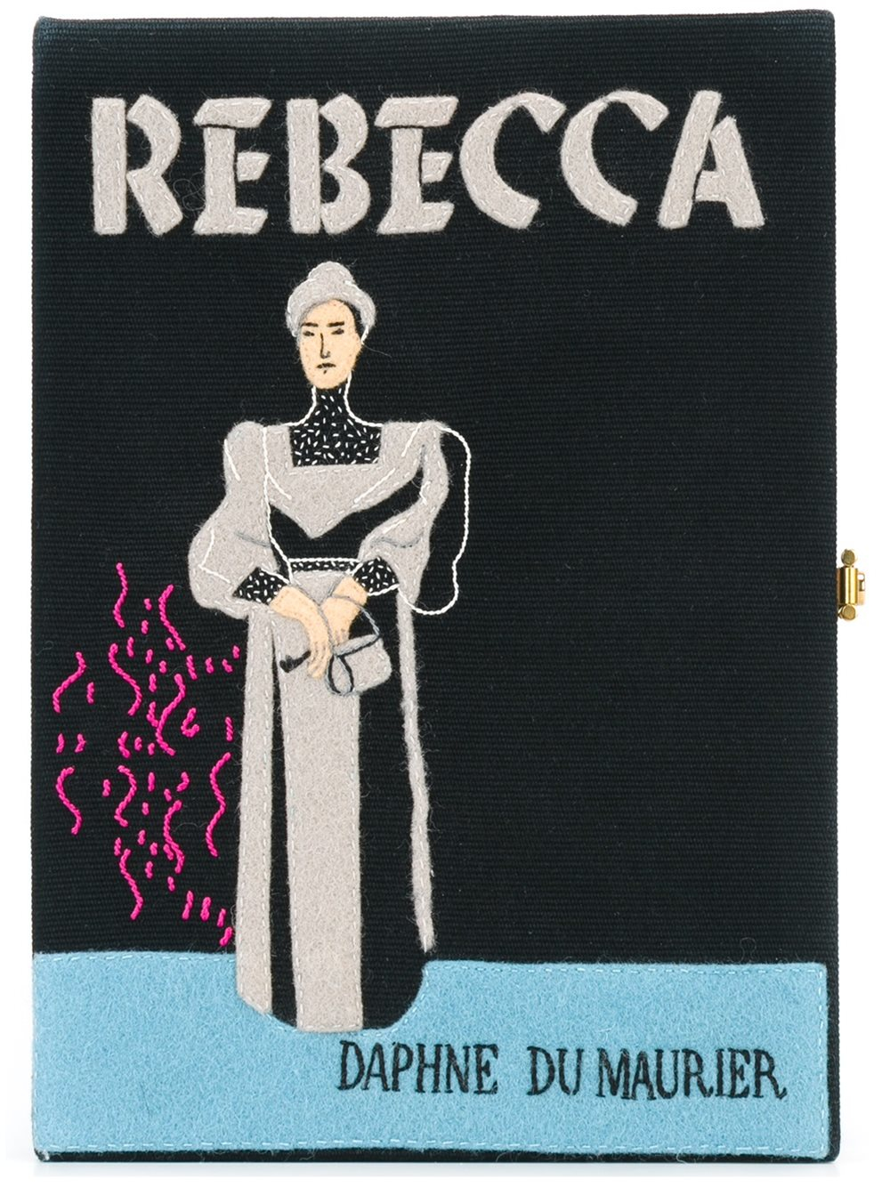 Book Cover Black Uk : Olympia le tan book cover clutch in black lyst