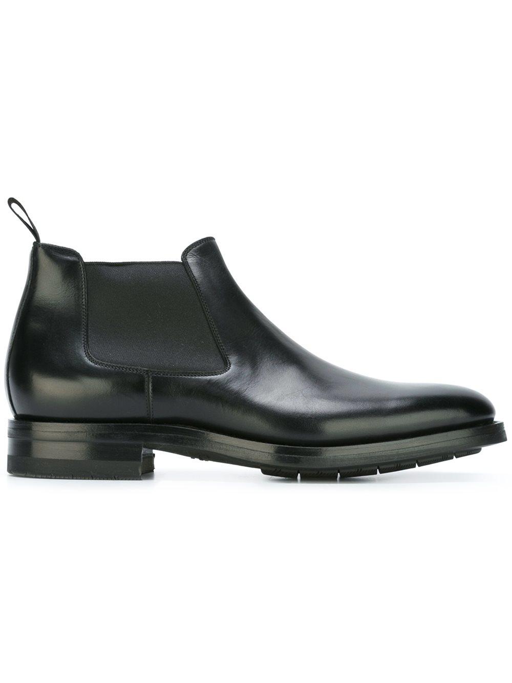 santoni chelsea boots in multicolor for men black lyst. Black Bedroom Furniture Sets. Home Design Ideas
