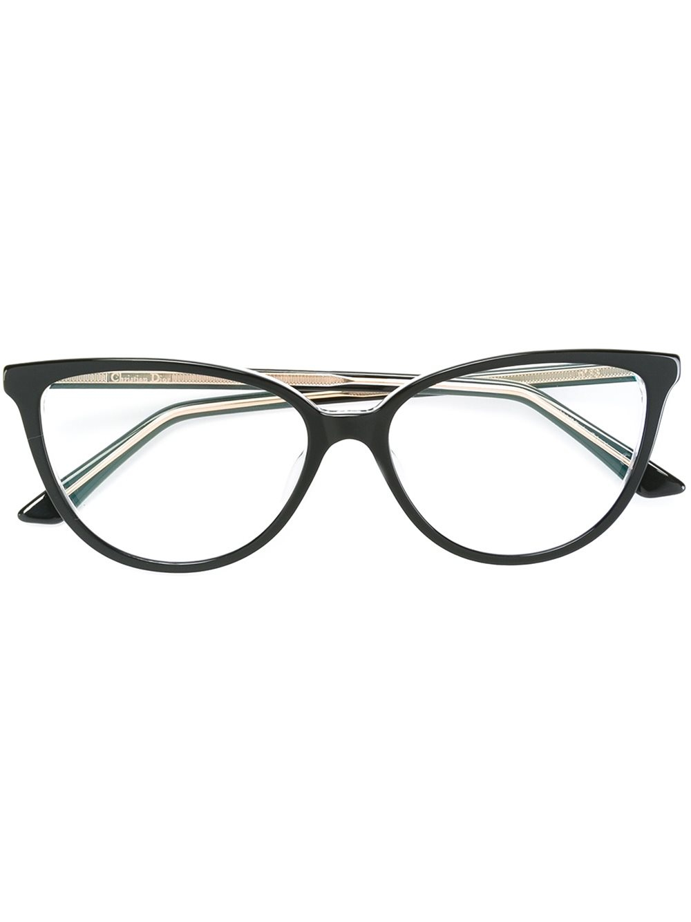 Dior Cat Eye Shaped Glasses in Multicolor (BLACK) Lyst