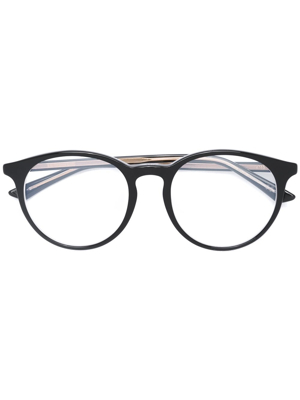 Glasses Metal Frame Dior : Dior Round Frame Glasses in Black Lyst
