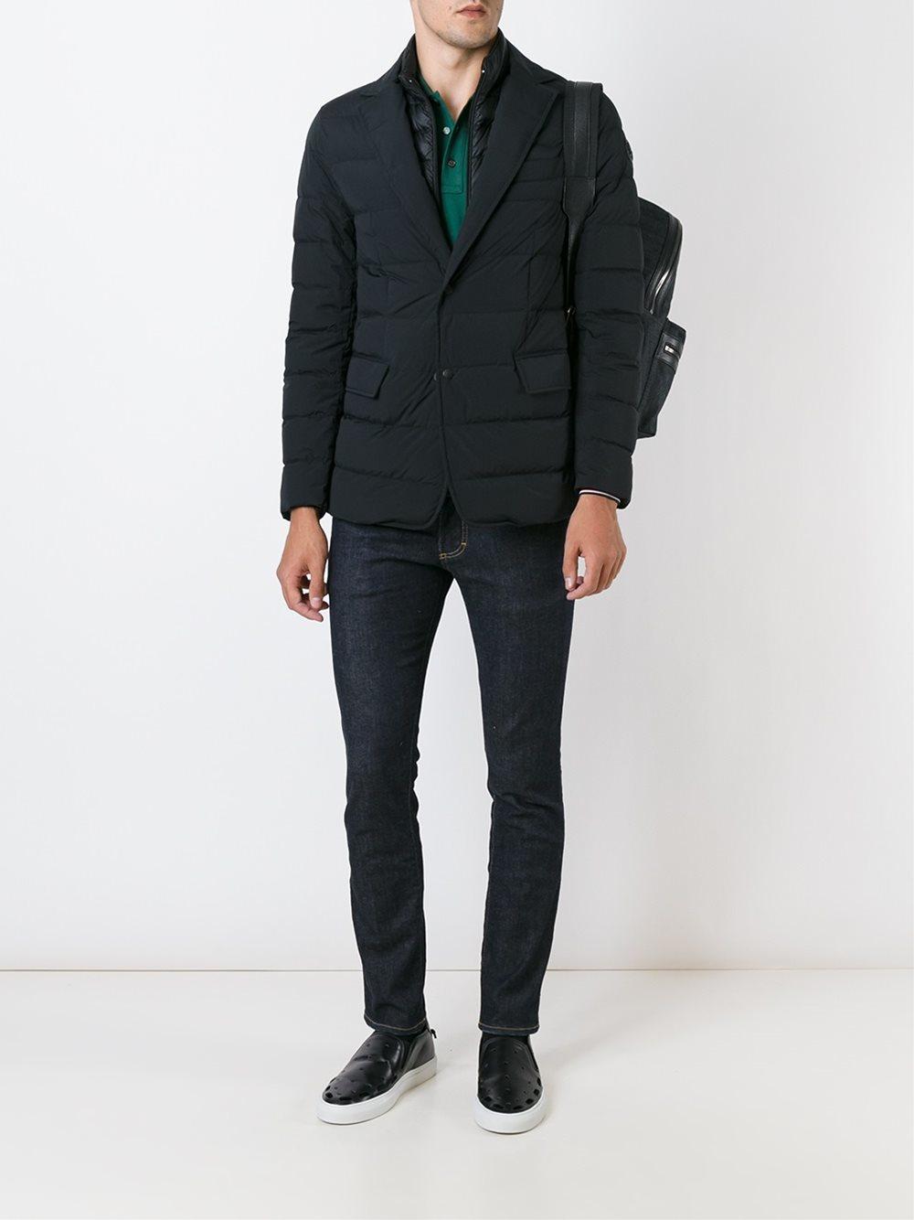 Moncler 'ferrand' Jacket in Black for Men