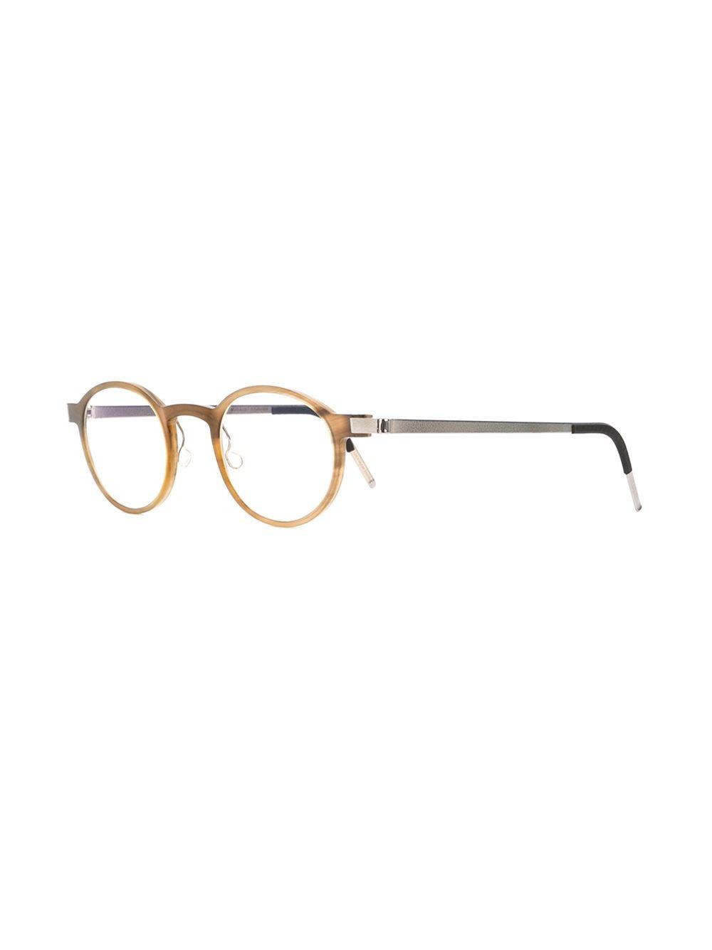 Lyst - Lindberg Round Frame Glasses-1285