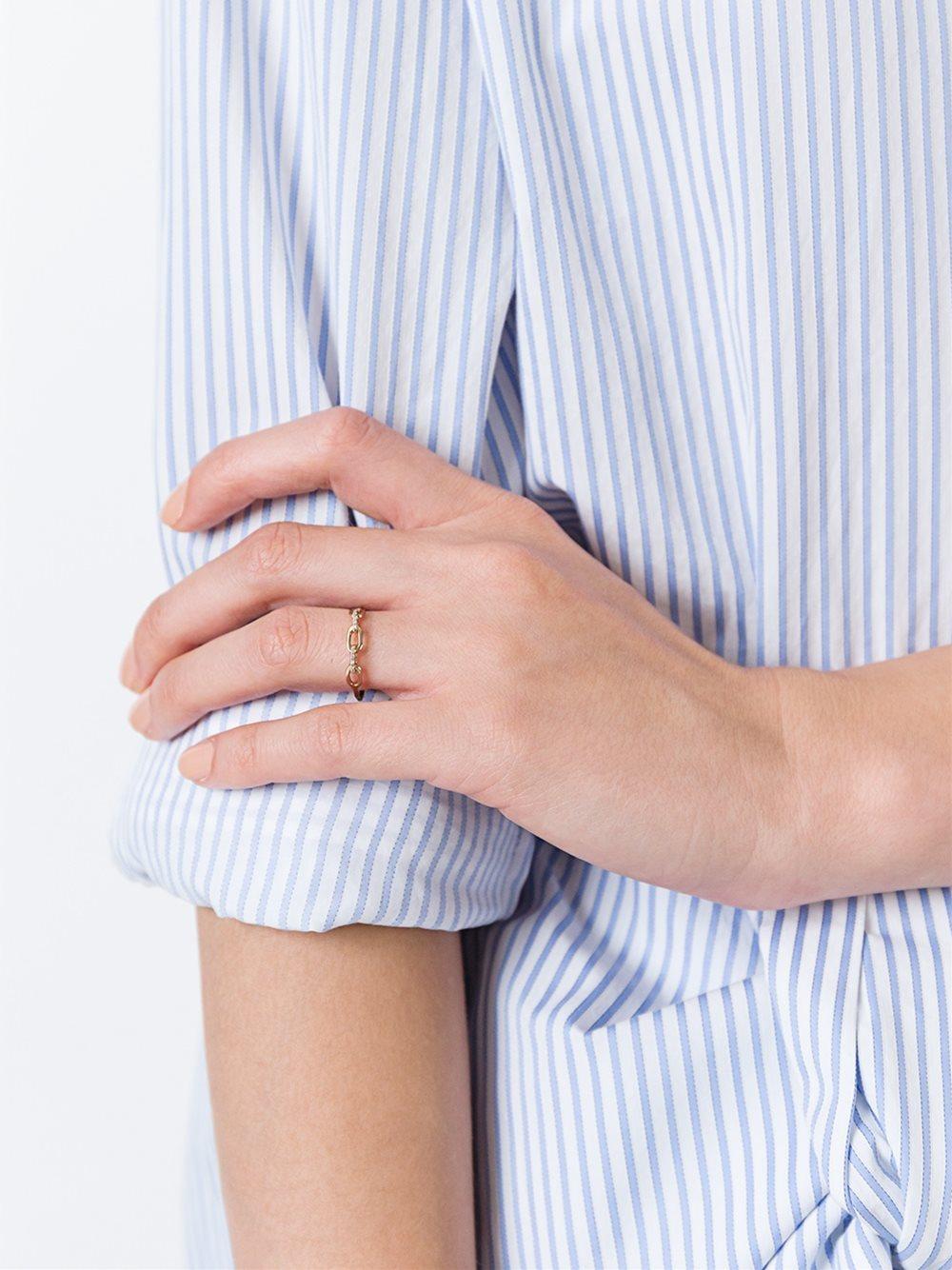 Tilda Biehn 'aurora' Ring in Metallic