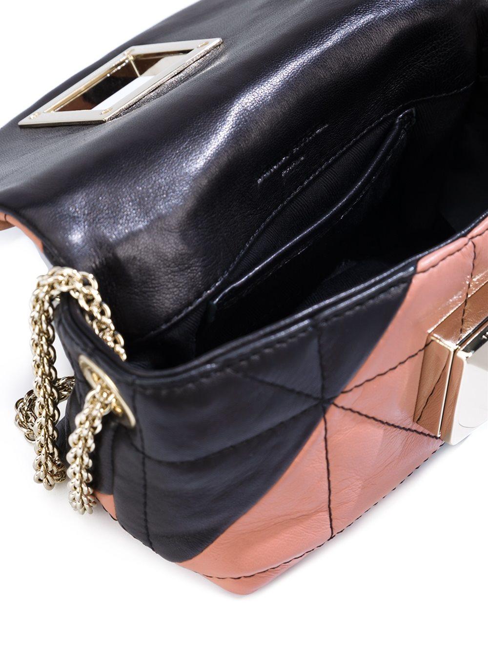Sonia Rykiel Leather Chain Strap Mini Crossbody Bag In