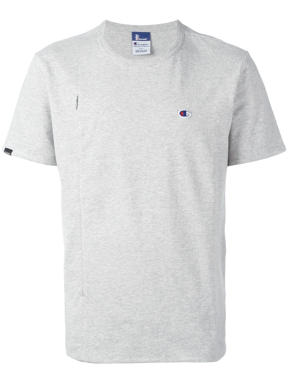 Champion X Beams T Shirt In Gray For Men Lyst